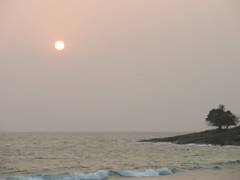Sun Setting On Aberdeen Beach (rustinpc) Tags: sierraleone freetown