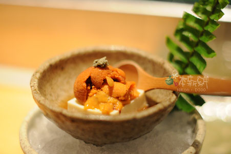 海膽豆腐冷食