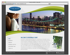 Riverwalk - version 1 (Cristian Bosch) Tags: screenshots webdesign template mockups webtemplate mockdesign webcomps