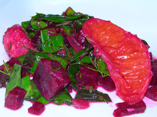 Roasted Beet and Tangelo Salad