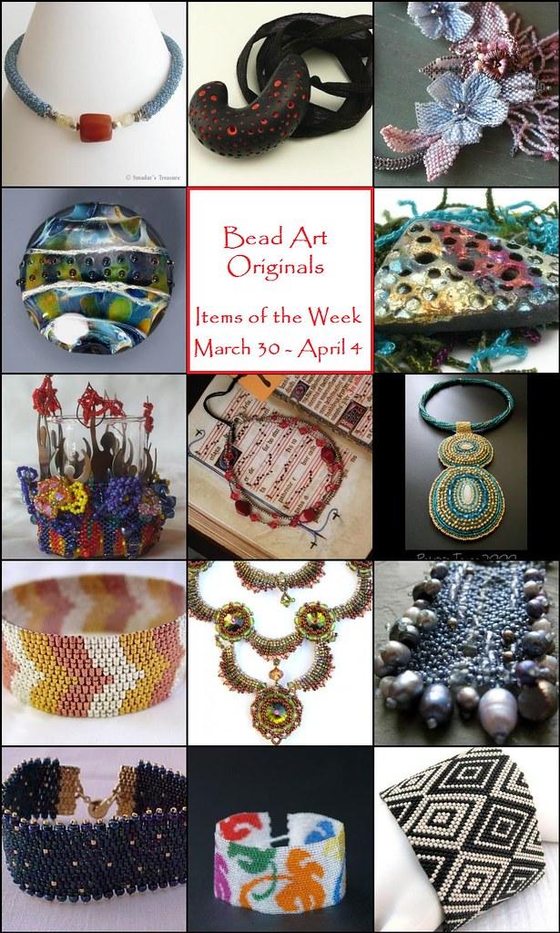 Bead Art Originals Items of the Week (3/30-4/4)