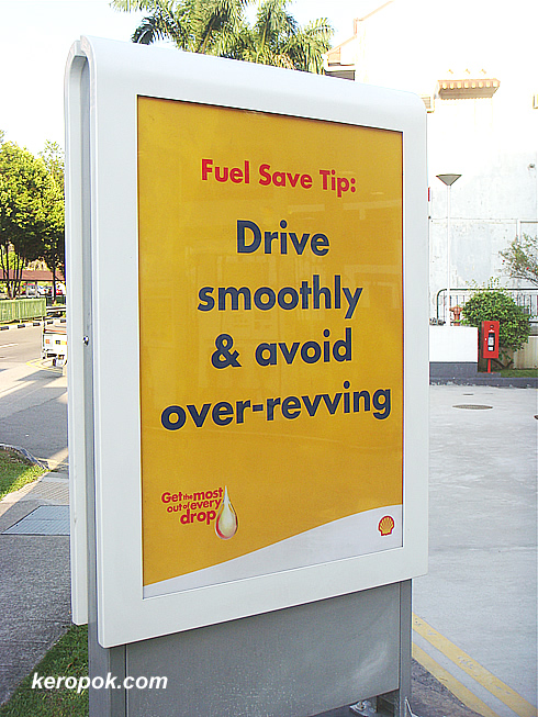 Shell's Yellow Sign boards