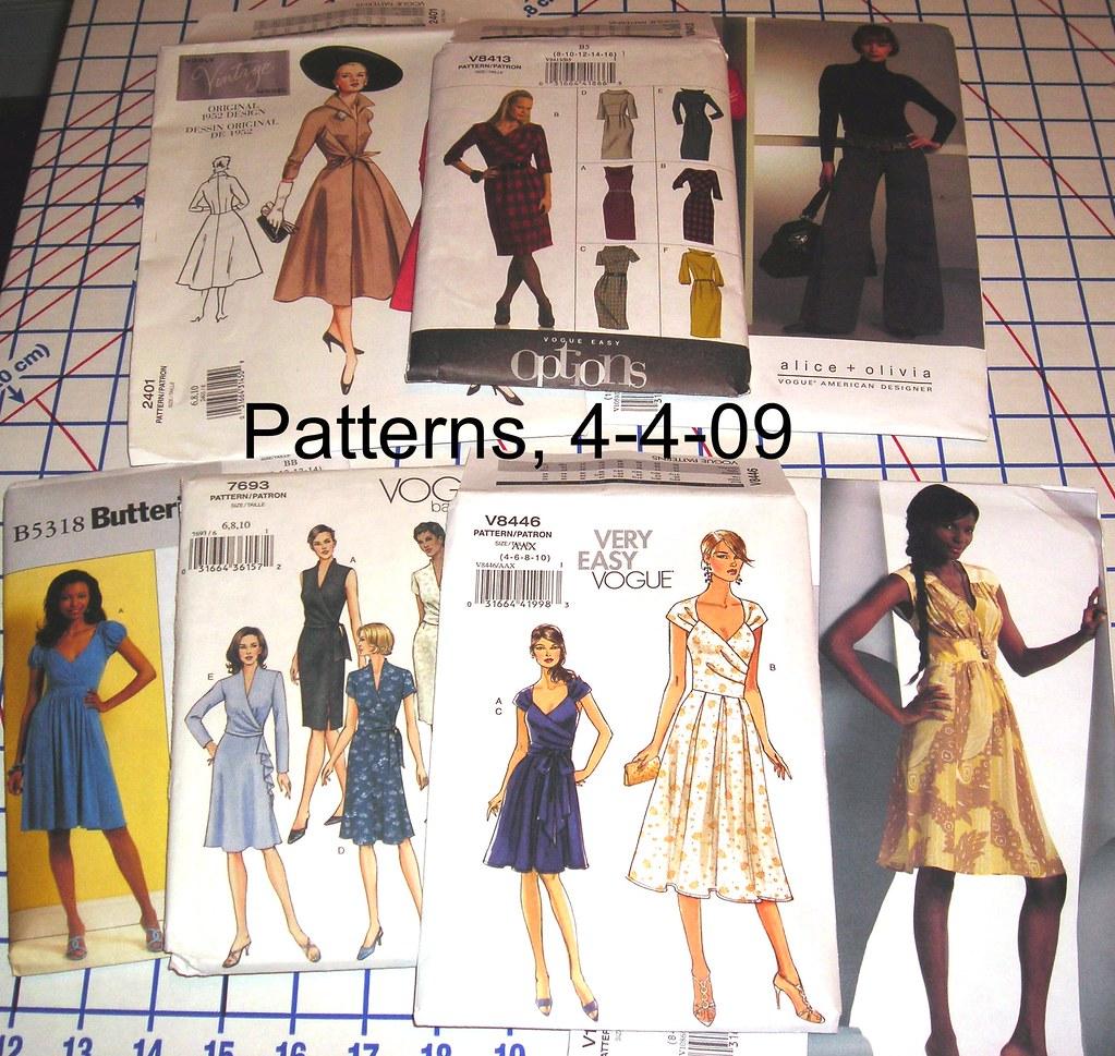 Patterns, 4/4/09