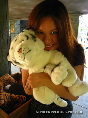 soft white tiger