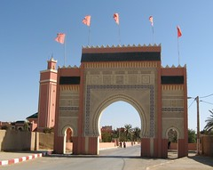Entrance to Rissani, Morocco (ali eminov) Tags: gates citygates minaret rissani morocco maroc mosaics muslimcultures