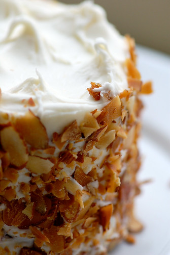 Photo c/o K. Morales, Carrot Cake from Metropolitan Market, Seattle