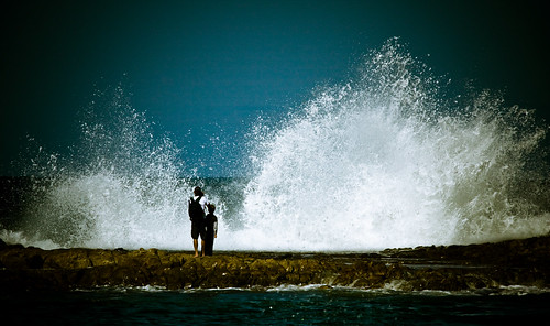 Photographing the waves