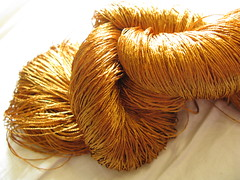 gold silk laceweight 2