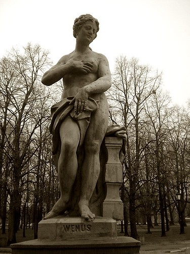 Rococo sculpture in the Saxon Garden | Flickr - Photo Sharing!