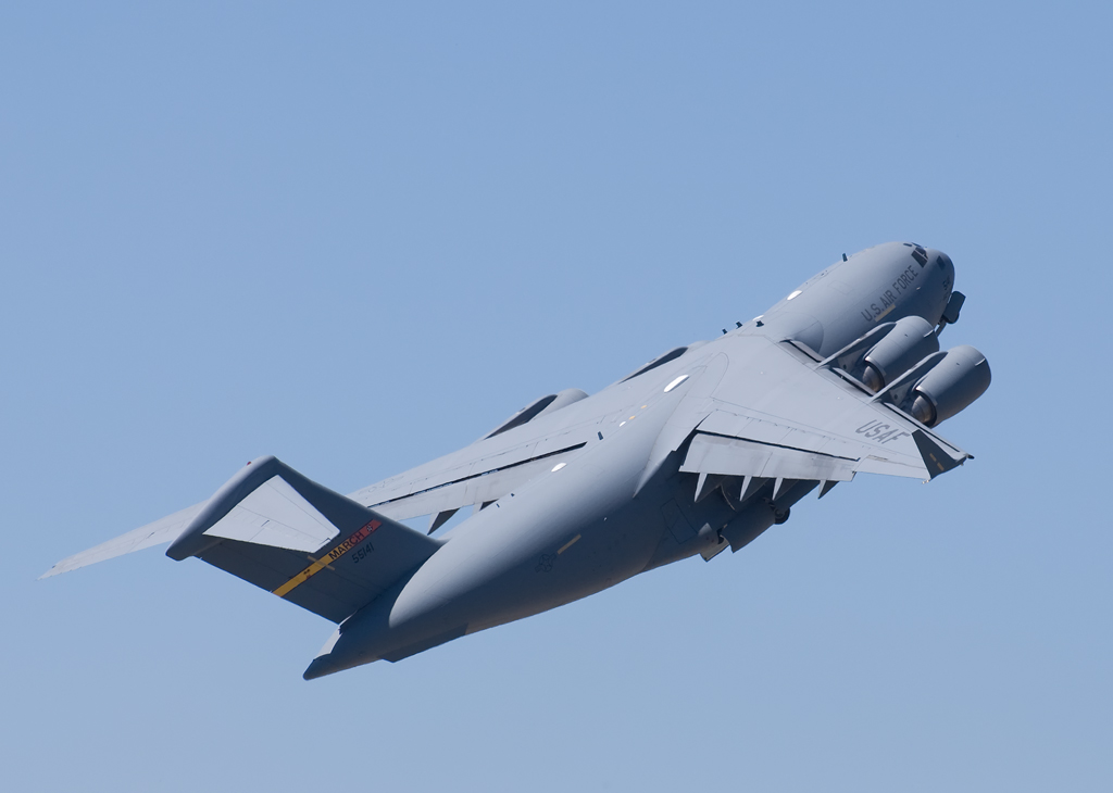 C-17A at the Beale AFB Airshow