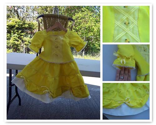 Aleena's Belle ballgown