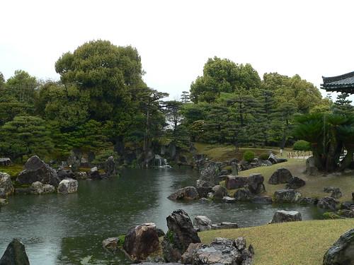 Steingarten im Nishi-Hongan-ji