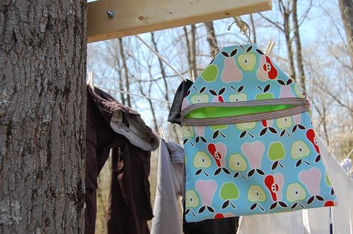 clothes pin bag #2