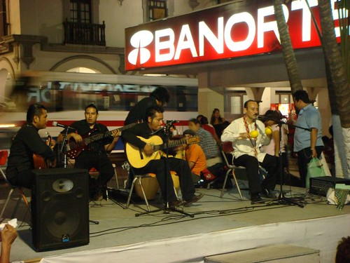 Great and highly skilled live music in Veracruz.