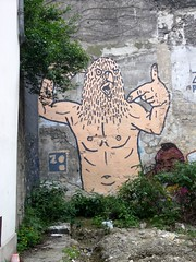 StreetArt, Paris, France (balavenise) Tags: streetart paris france art wall publicspace graffiti mural artist tag urbanart mur arteurbano artdelarue arturbain ephemere artedecalle artsauvage efemero flickrgiants
