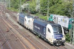 Emmerich (D), 30-04-2009 (steefieonapple) Tags: siemens taurus wlb es64u2 wienerlokalbahn es64u2035 es64u2023