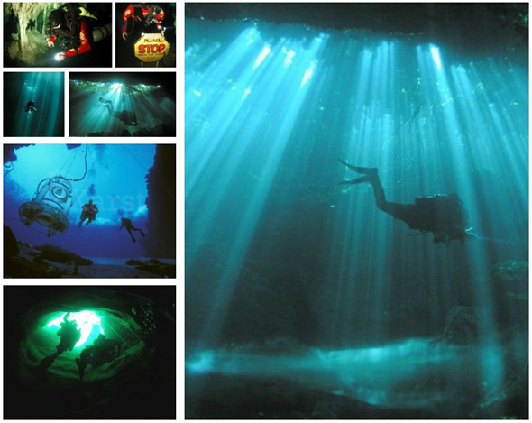 Challenging Neptune: 6 Underwater Cave Photographers