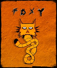 Foxy (Irmantas Genotas) Tags: illustration cat foxy fox deree