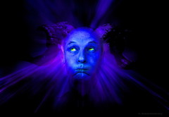Inner Aggression (h.koppdelaney) Tags: life blue art digital photoshop ego drive energy power state emotion symbol explosion picture evil philosophy anger mind devil mephisto motivation aggression awareness metaphor destructive consciousness mystic resistance symbolism psychology introvert archetype repressed intellect notniceart impotentrage