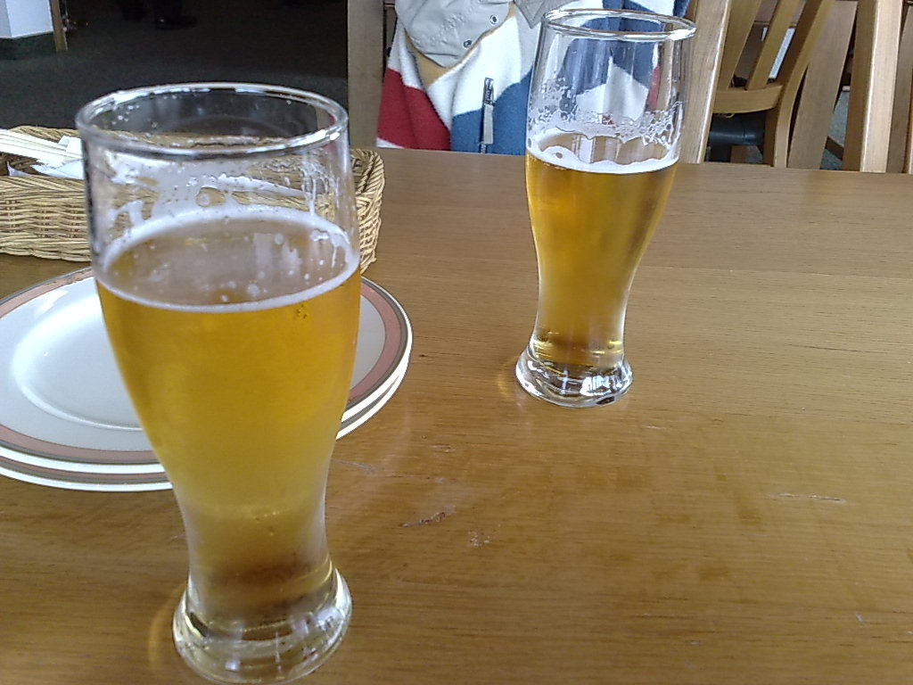 20090505 ランチにビール