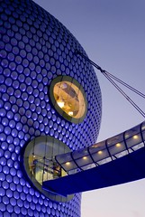 UK - Birmingham - Selfridges at dusk (Darrell Godliman) Tags: uk greatbritain travel bridge england urban copyright building travelling architecture night facade buildings arquitectura birmingham aluminum europe britishisles unitedkingdom britain dusk curves eu landmark icon curvy nighttime selfridges departmentstore gb architektur blob iconic modernarchitecture architettura floodlit bullring aluminium allrightsreserved architectuur brum midlands pedestrianbridge mimari futuresystems sinuous architecturalphotography contemporaryarchitecture travelphotography instantfave omot  travelphotographer blobitecture selfridgesco flickrelite dgphotos darrellgodliman wwwdgphotoscouk spaceslug architecturalphotographer dgodliman parametricbridge ukbirminghamselfridgesatdusk