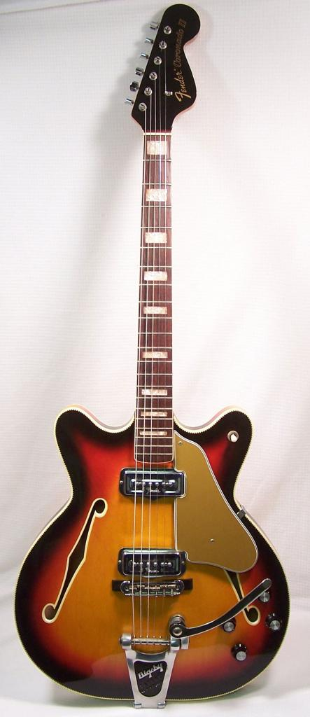 the unique guitar blog 2010 the fender coronado