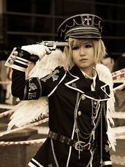 (RandomDharmaBum) Tags: people faces cosplay southkorea 2009 fis individuals tamron1750mmf28xrdiii canoneos40d