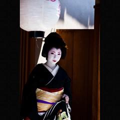 Erikae (Masahiro Makino) Tags: japan photoshop canon eos kyoto geiko adobe  tamron 90mm f28 lightroom miyagawacho erikae kimika   40d   20090514130941canoneos40dllps640p