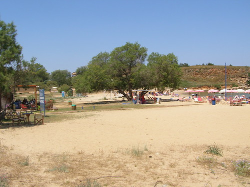 golden sand beach near inka supermarket agious apostolous hania chania