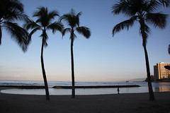 Waikiki in the Morning