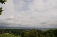 栗山スキー場からの眺め