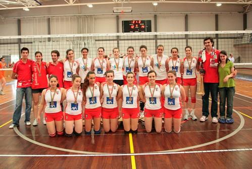 Voleibol S.C. Braga: Equipa Campeã Nacional de Juvenis 2008/2009