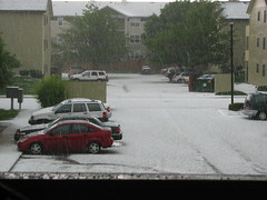 Hail Storm, Ft. Collins, CO - 7 June 2009