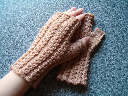 Rinsessa fingerless mitts