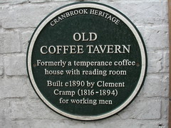 Photo of Clement Cramp green plaque
