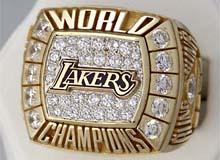 Anillo de Campeón de los Lakers