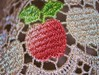 delicate apple (Eirreannach) Tags: art soft lace delicate applered delicateapple