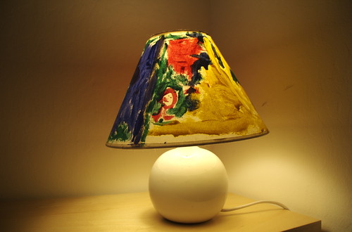 painted-lamp-shade