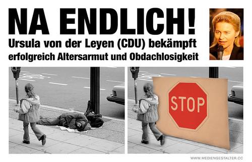 So klappts bei der CDU mit dem Prekariat und anderem...