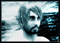 Oliver ( MARJORIE  Kappler) Tags: blackandwhite bw water oliver sl secondlife marjorie virtualphotographer optikverve kappler szondi oliverszondi marjoriekappler