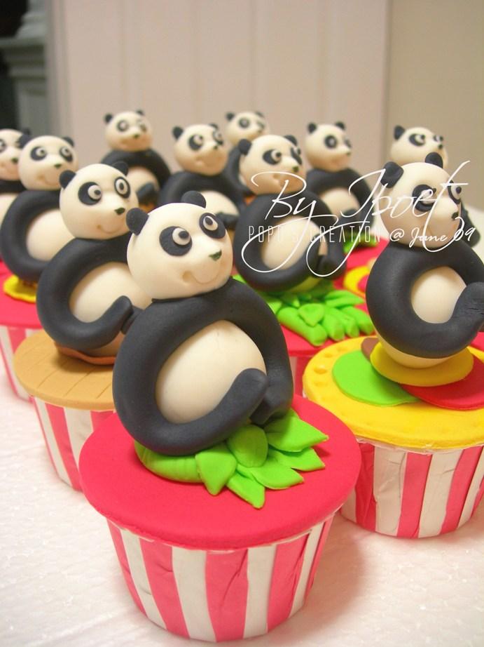 Kungfu Panda CUpcake