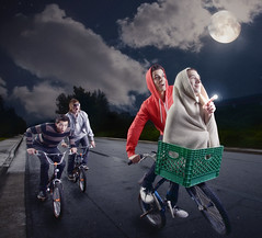 Phone Home (Rian Flynn) Tags: composite space bikes explore alienbee et comp whitelightning platinumphoto
