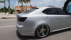 Lexus IS350 with Vossen VVS-078 Wheels (VossenWheels) Tags: light black silver is miami wheels deep 350 lip gloss fl weight forged matte lexus machined vossen 078 vvs is350 vvs078