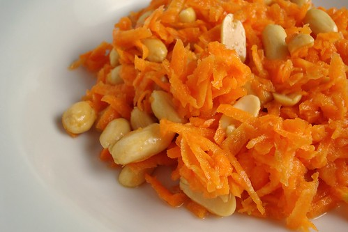Carrot and Peanut Salad