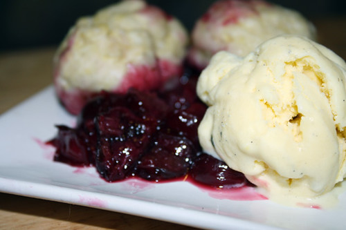 Cherry Grunt (AKA Cherries with Dumplings) 1