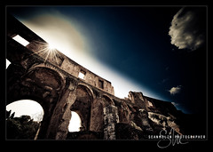 Colosseum Dramatica (Sean Molin Photography) Tags: european vacationeuropeitalyrome2009marchvacationitalli vacationeuropeitalyrome2009marchvacationitallian