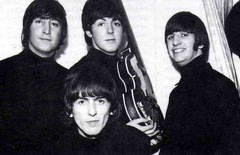 (warmguns) Tags: blackandwhite 60s fab4 thebeatles fabfour