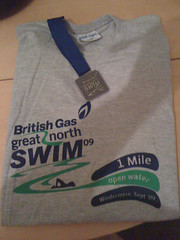 Great North Swim T-shirt 2009