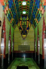 Guardian Building: Detroit, Michigan (Onasill ~ Bill Badzo - 59 Million - Thank You) Tags: county usa building glass stain architecture america skyscraper tile geotagged gold see site downtown michigan terracotta wayne detroit bank landmark structure historic lobby company condo national trust pottery government historical artdeco register pewabic must elevators deco 1928 guardian attraction rookwood guardianbuilding glazedtile nrhp