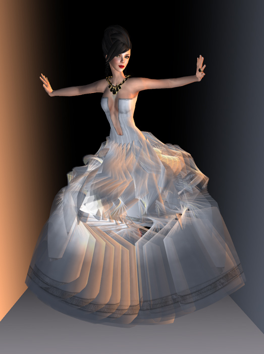 Glam Affair 20 Linden White Gown
